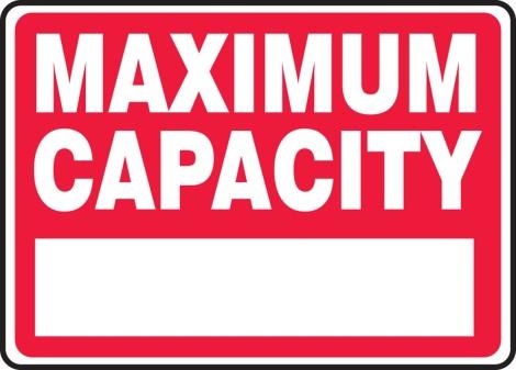 max capacity
